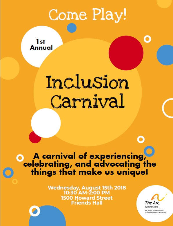 Inclusion Carnival: Create Your Own Inclusion Adventure!