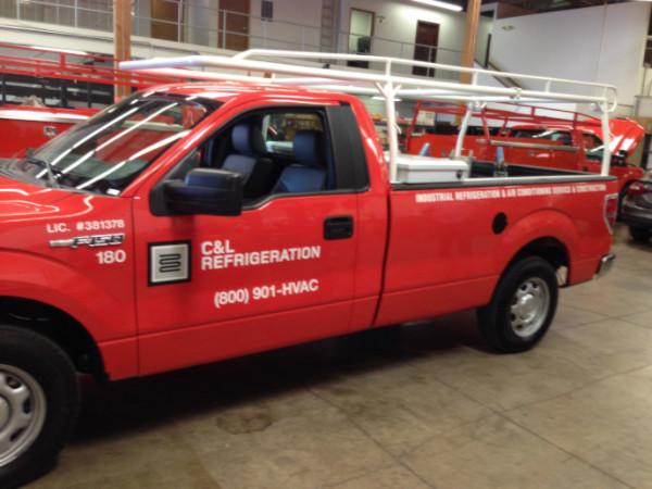Fleet truck graphics programs Orange County CA