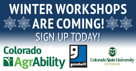 Arapahoe County AgrAbility Winter Workshop