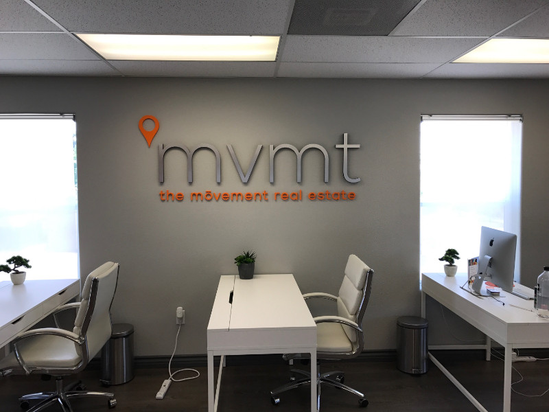 Office Wall Logo Sign