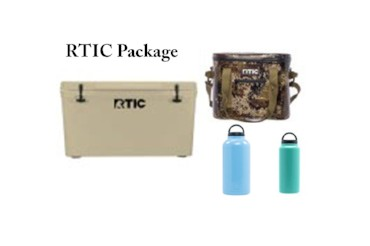 RTIC cooler package