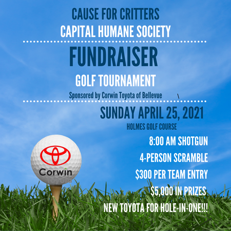 Cause for Critters Golf Tournament
