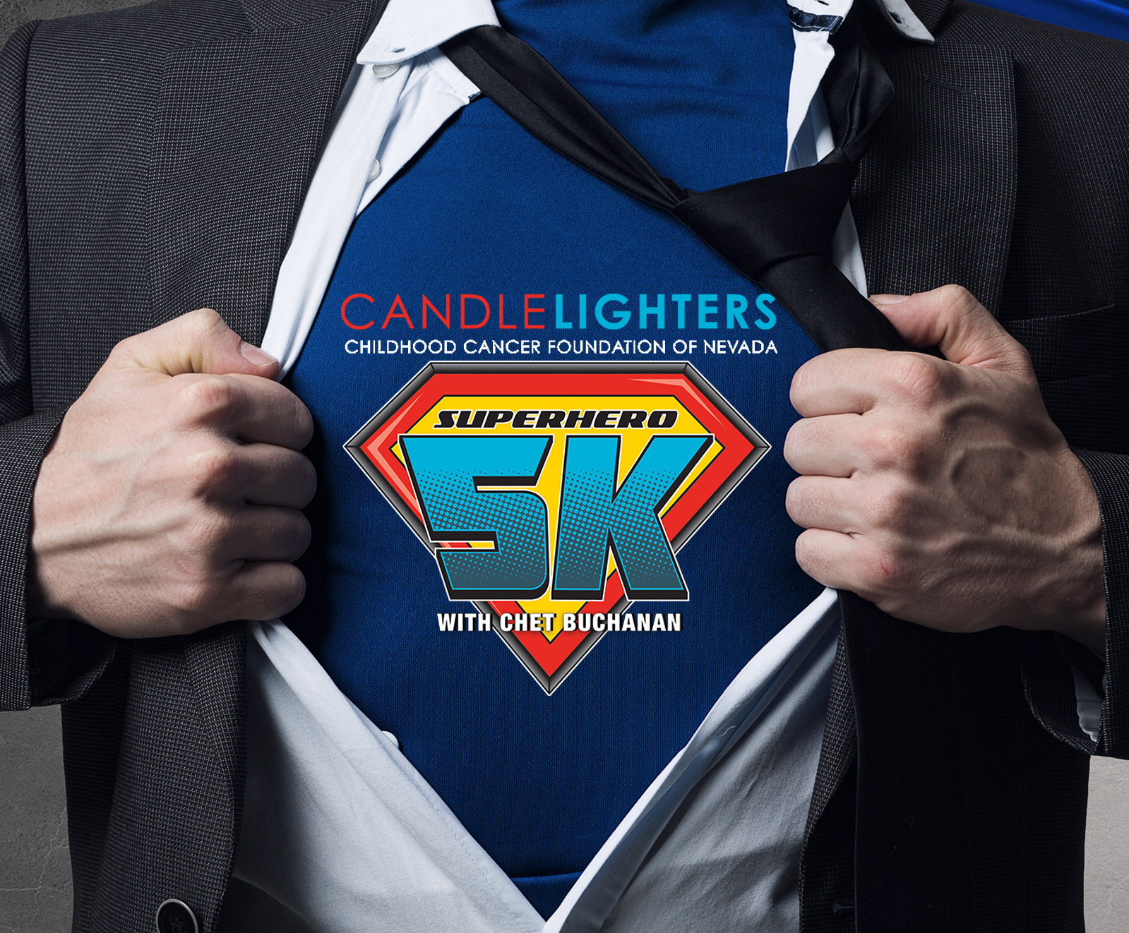 Fox 5: Candlelighters Superhero 5K With Chet Buchanan Critical Mention