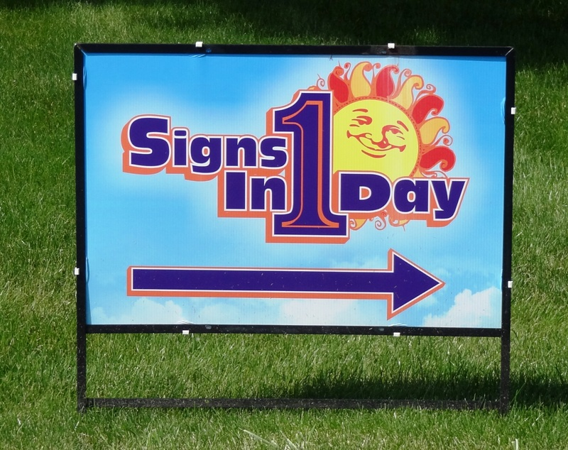 Sidewalk Signs & Yard Signs