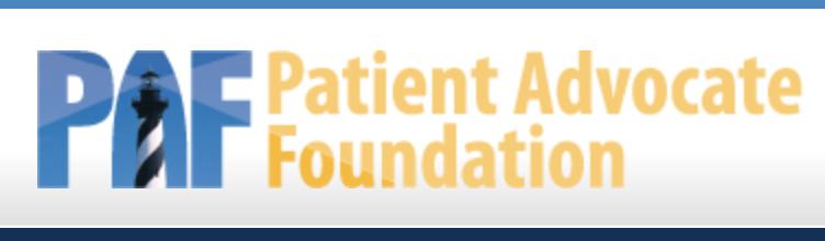 Patient Advocate Foundation Website