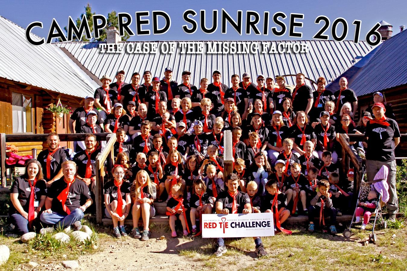 Camp Red Sunrise
