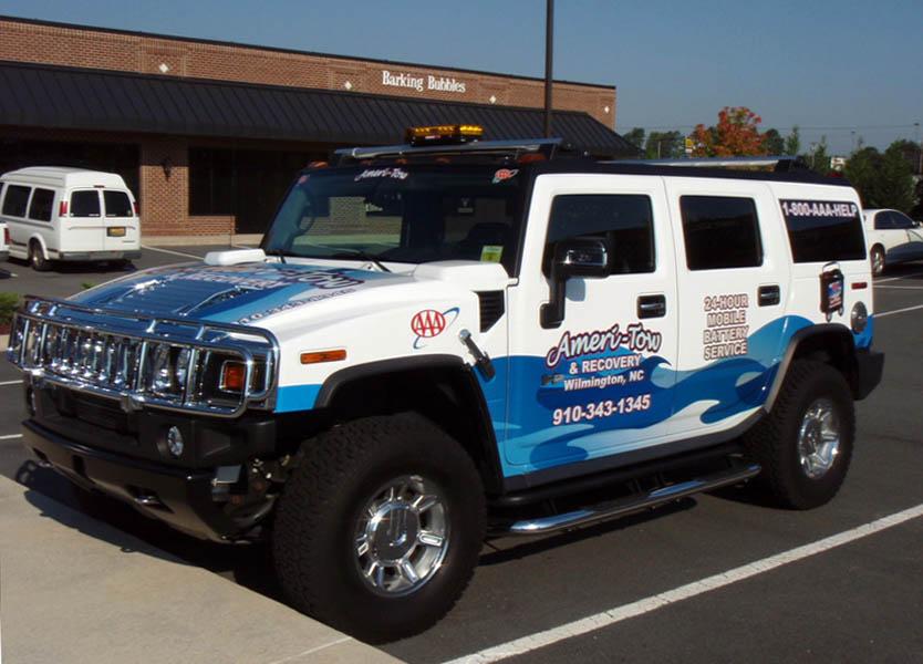 Hummer Truck Wrap