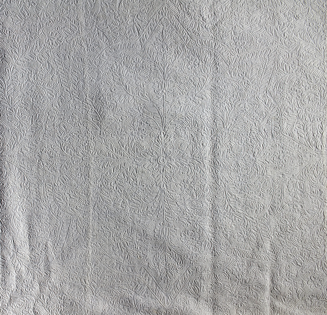 Bedcover, IQSCM 2005.018.0002, Center Detail