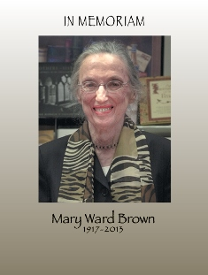 Courage and Endurance: The Work of Mary Ward Brown