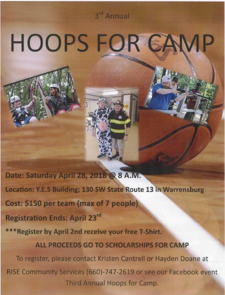 3rd Annual Hoops for Camp