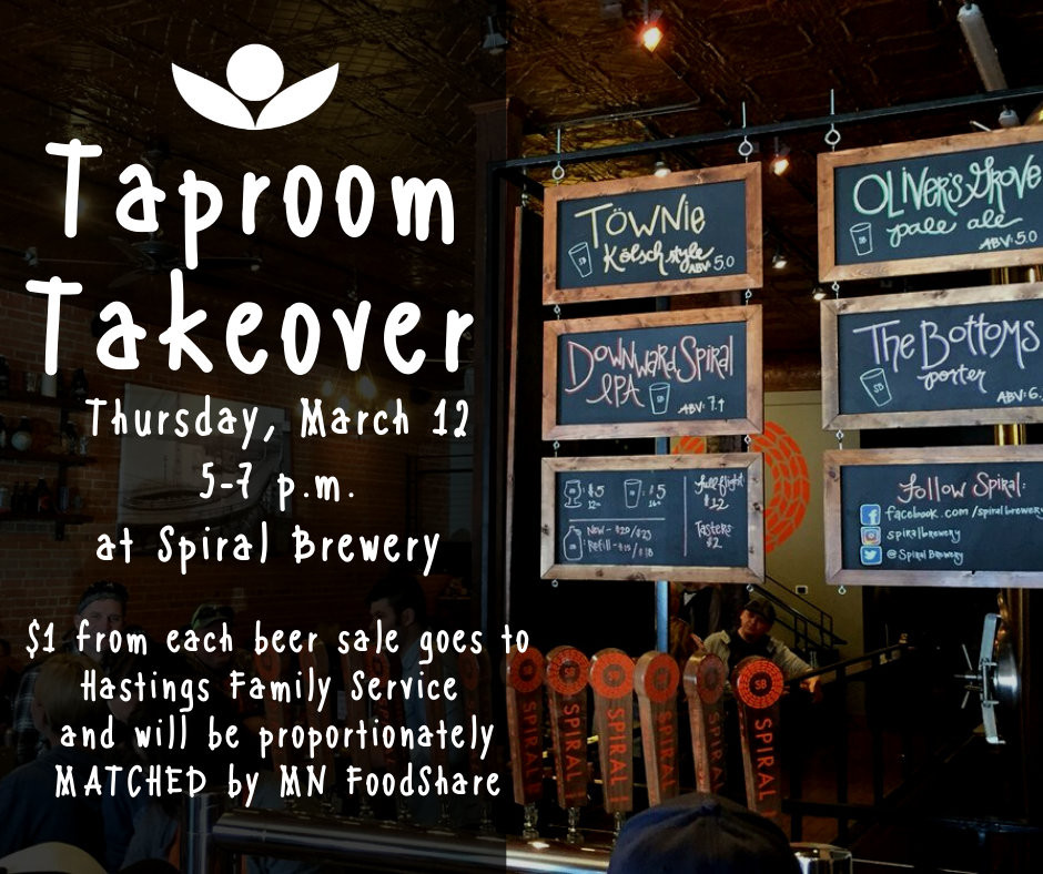 HFS Taproom Takeover at Spiral Brewery