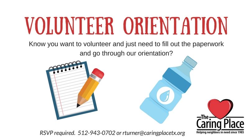 Volunteer Orientation
