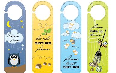 door hangers|printing|one color|full color