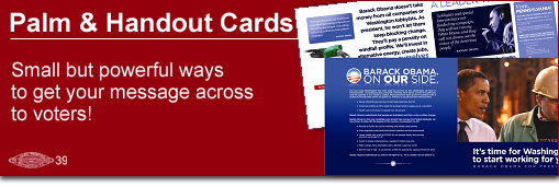 Palm | Handout | Cards | Political | Union