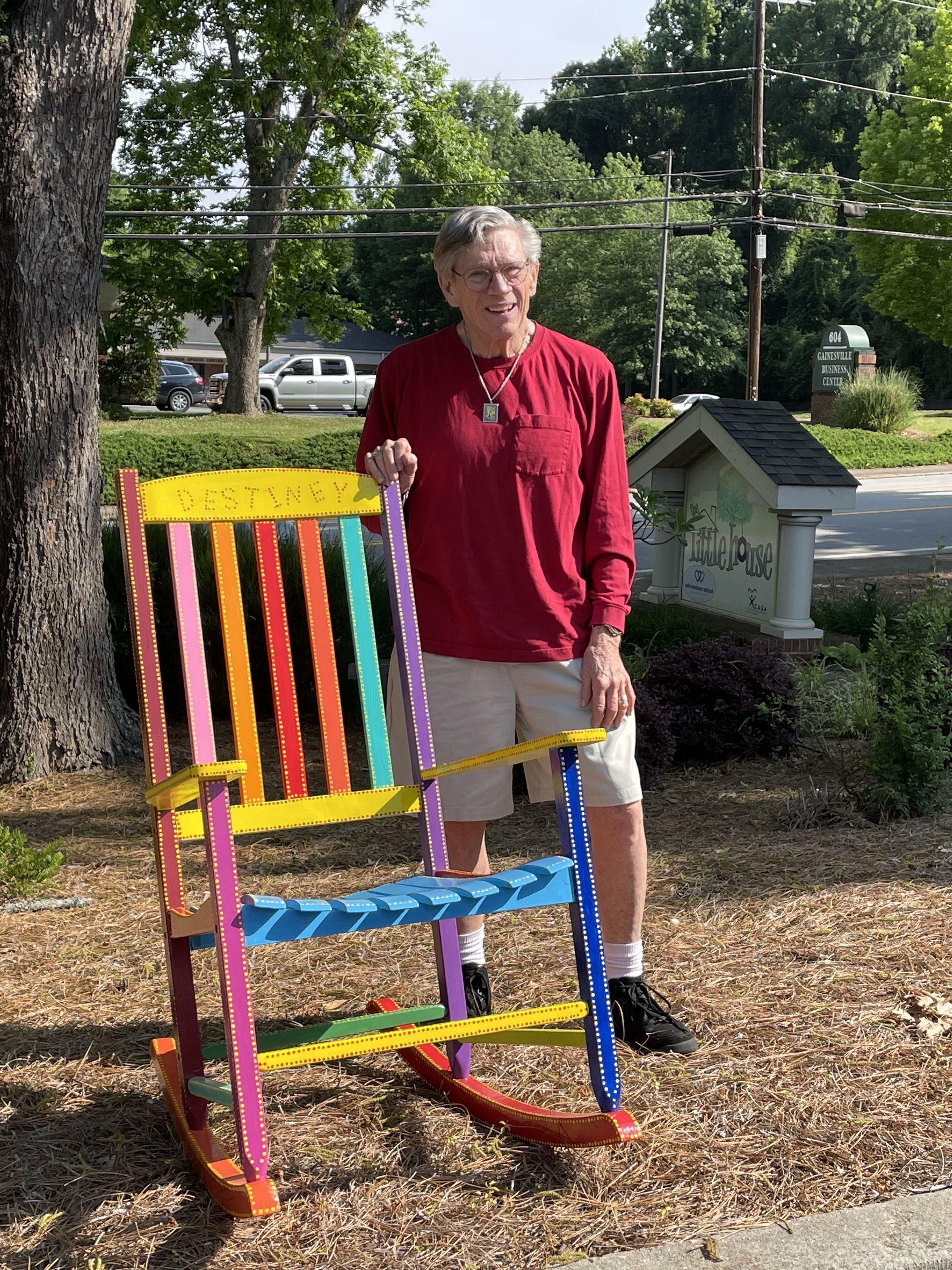 Granddaddy John's rocking chairs.