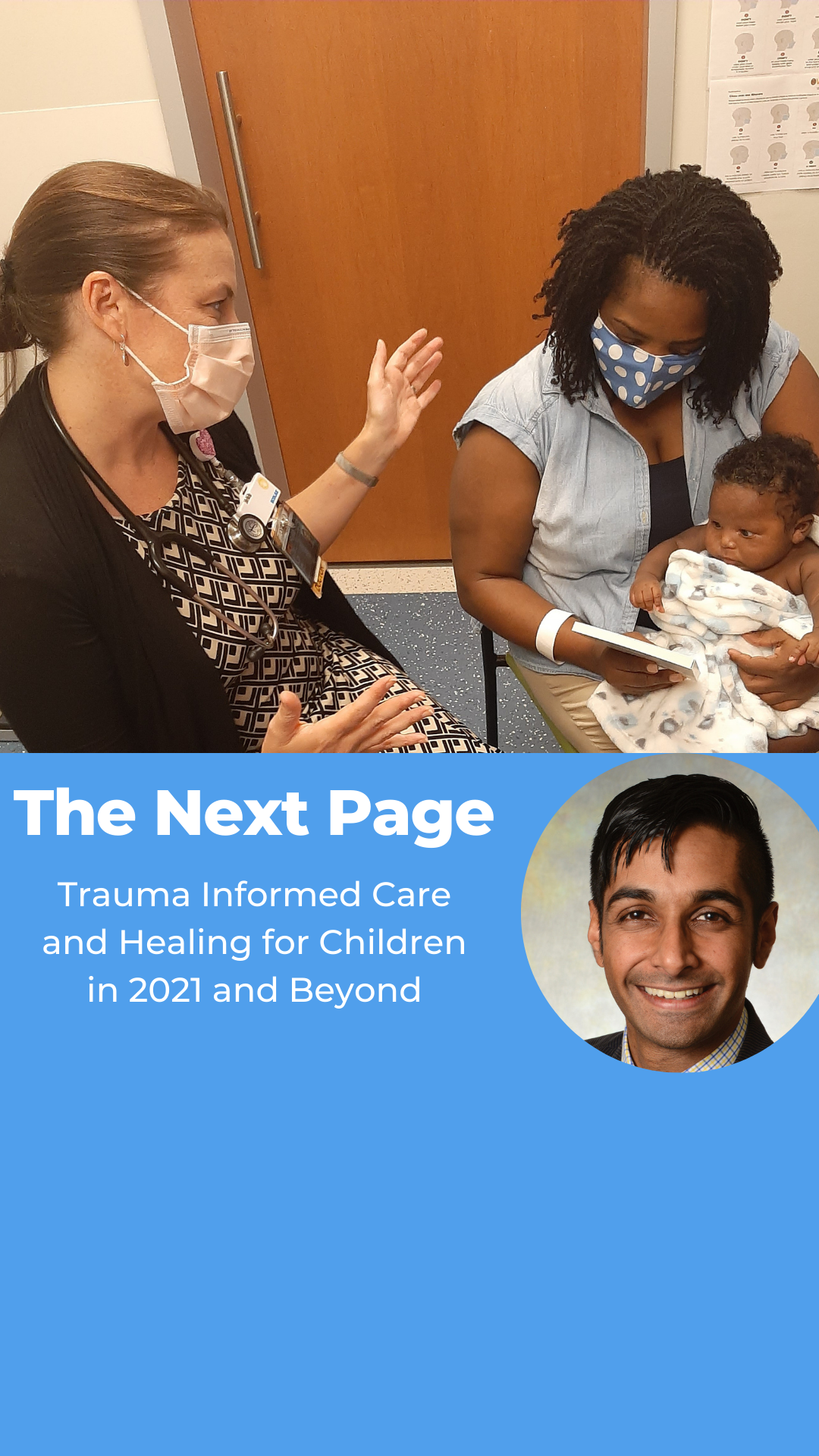 The Next Page: Trauma Informed Care and Healing for Kids in 2021