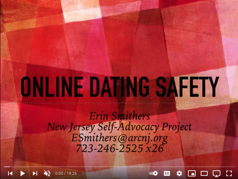 VIDEO: Online Dating Safety