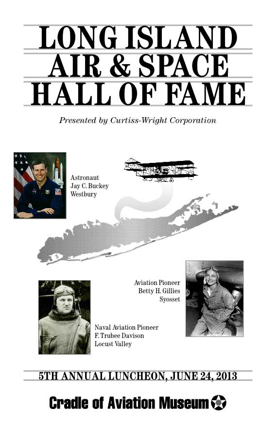 5th Annual Long Island Air & Space Hall of Fame Luncheon