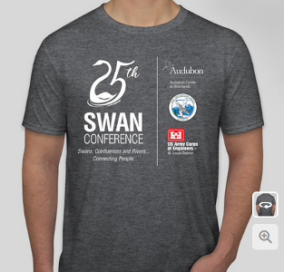 One-of-a-kind Swan Shirt