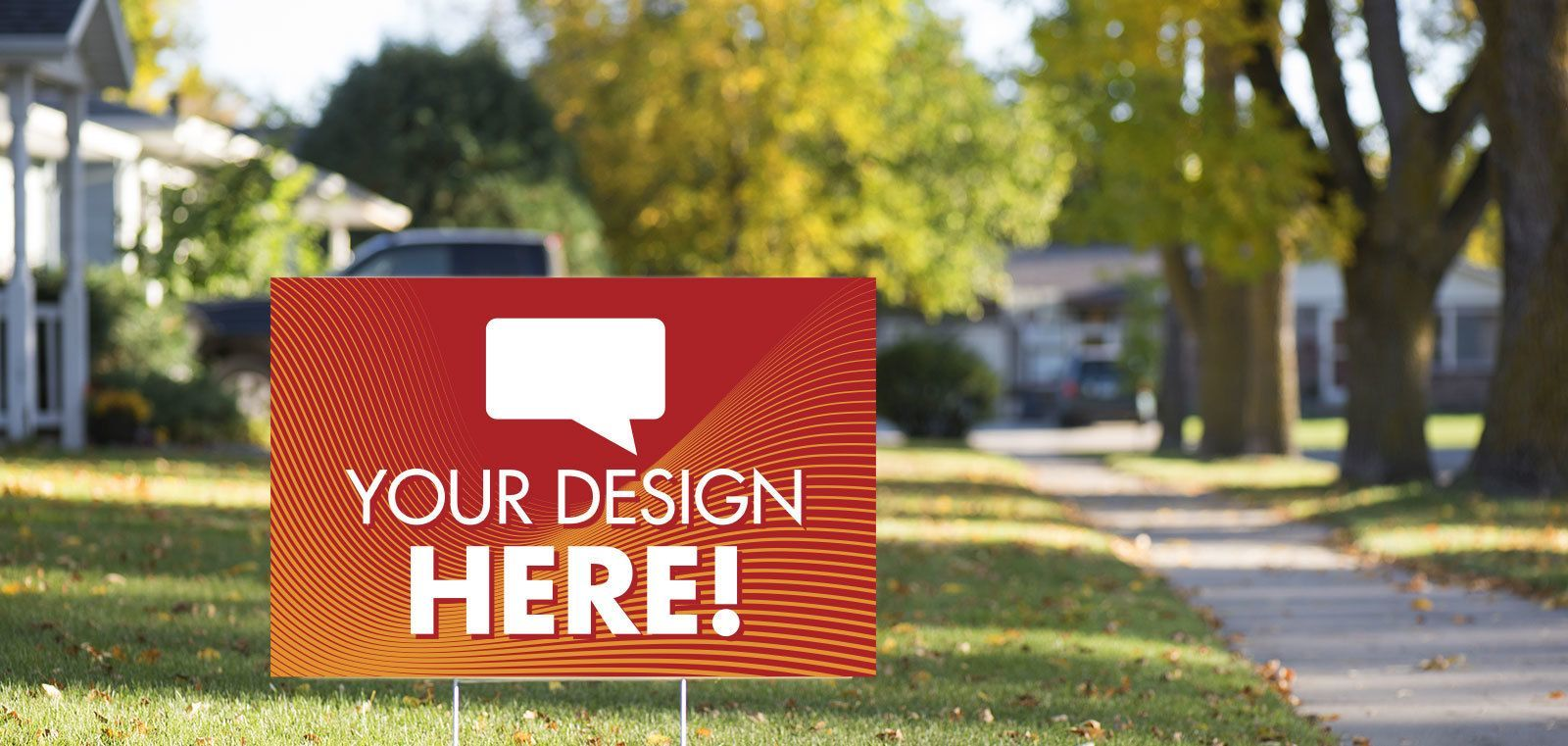 """23.5"""" x 15.5"""" Coroplast Lawn Signs – Now Only $8.99"""