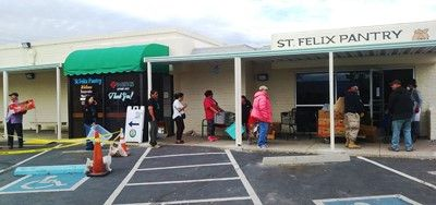 St. Felix Pantry: The Only Food Pantry Still Open in Rio Rancho, New Mexico