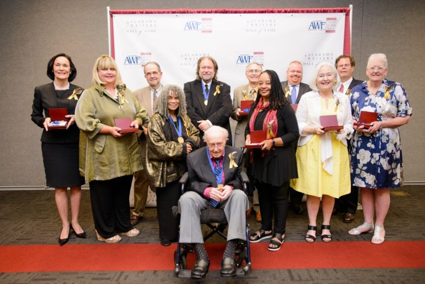 Alabama Writers Hall of Fame celebrates 12 inaugural inductees