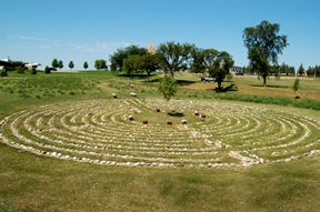 Labyrinth Prayer Path Walk -