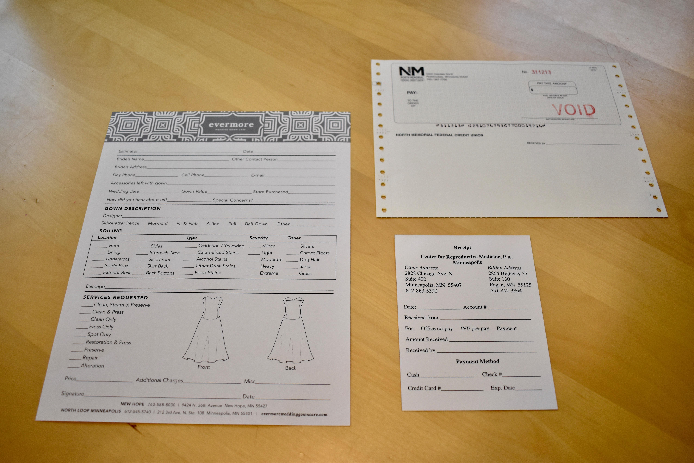 Forms & Checks