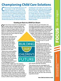A Focus on Child Care