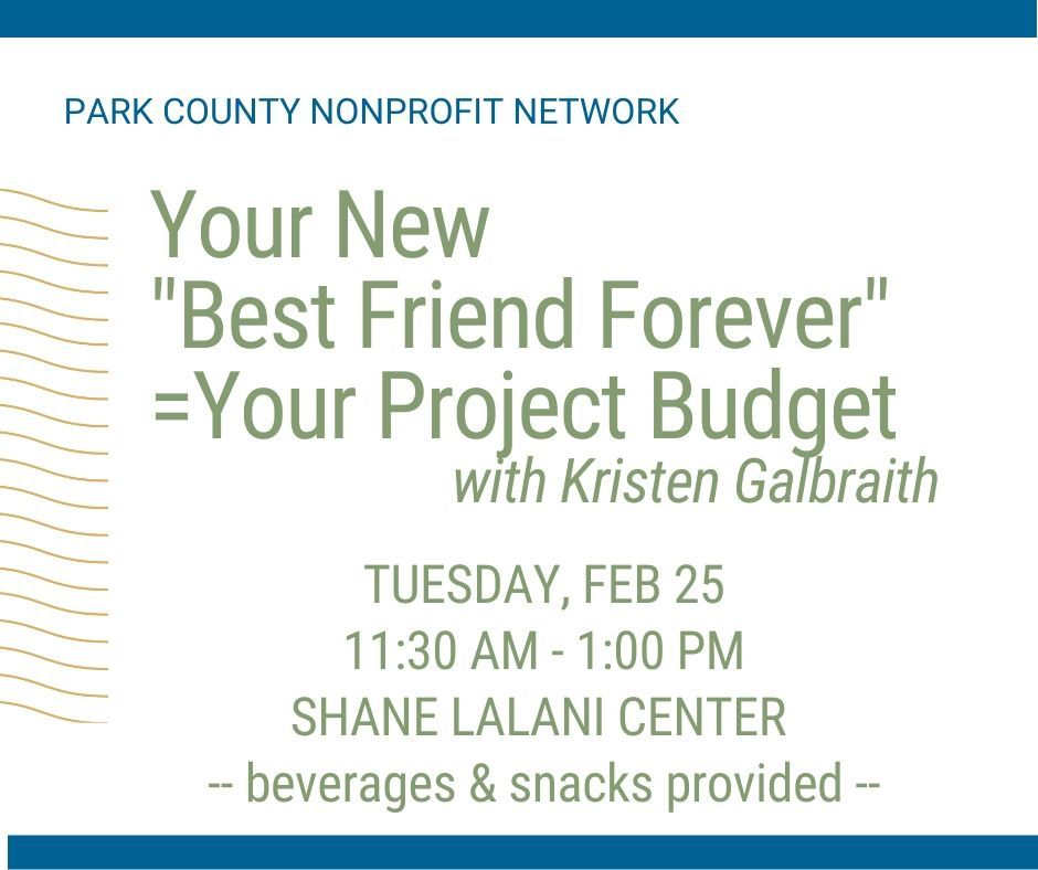 "Your New ""Best Friend Forever"" = Your Project Budget"