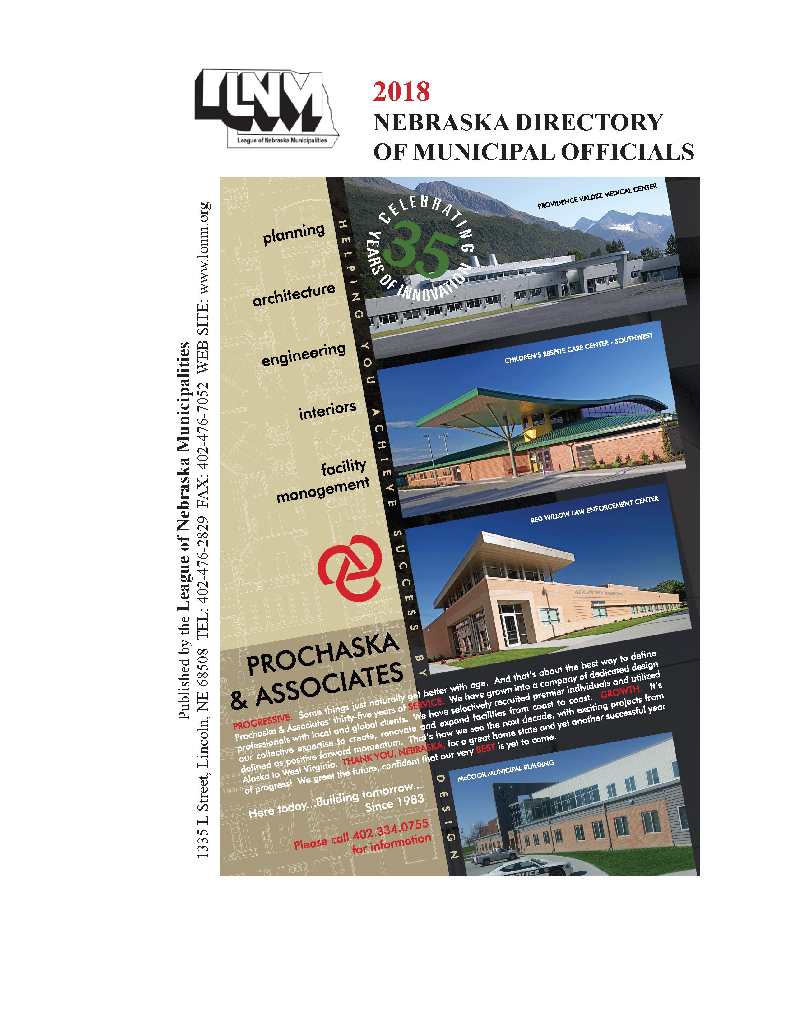 Nebraska Directory of Municipal Officials