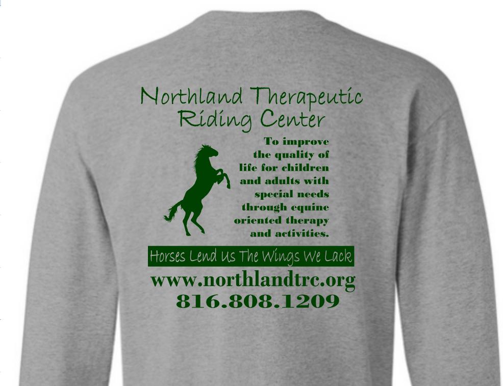 NTRC Supporter Long Sleeve Shirt- Large