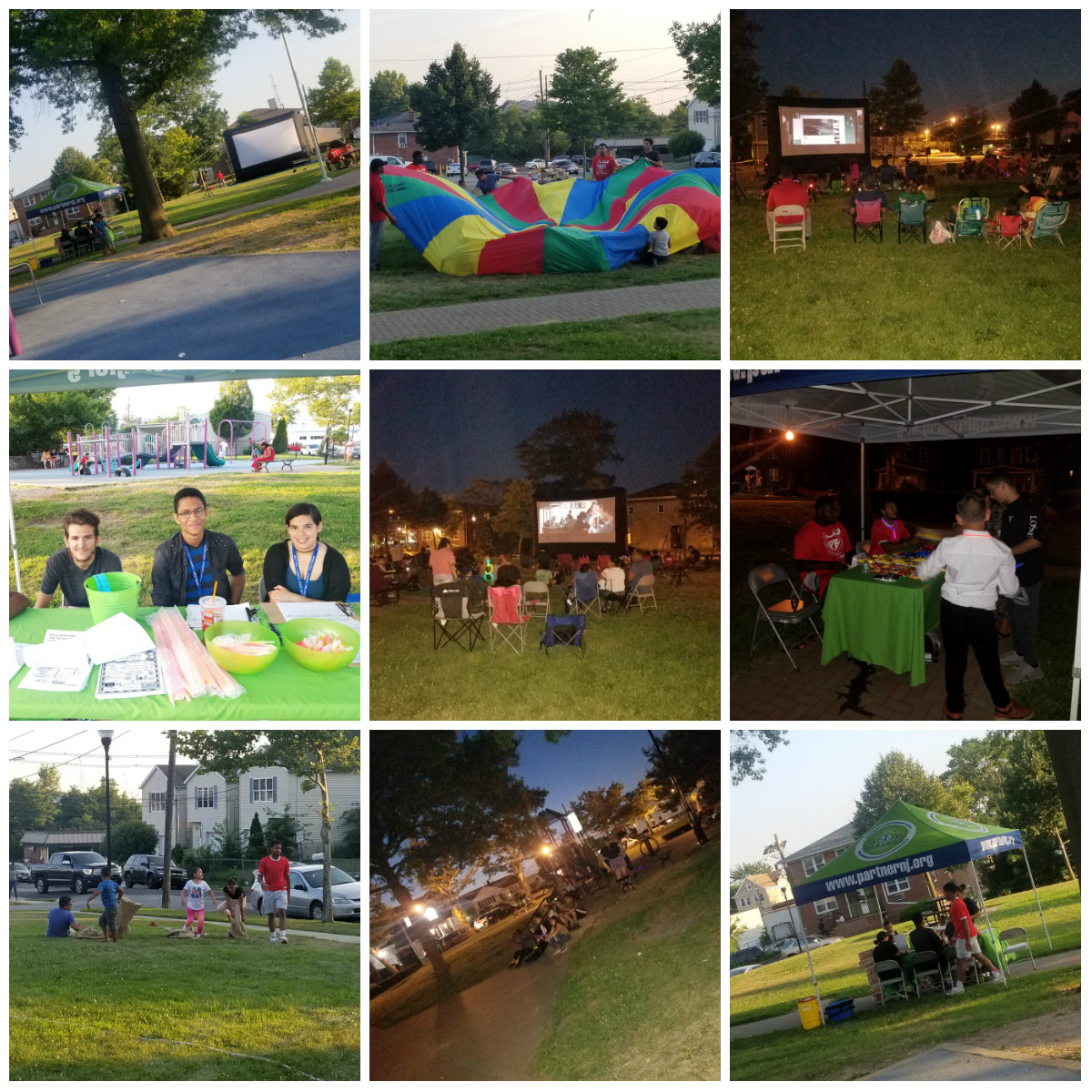 Movie Night at Patten Park July 2018