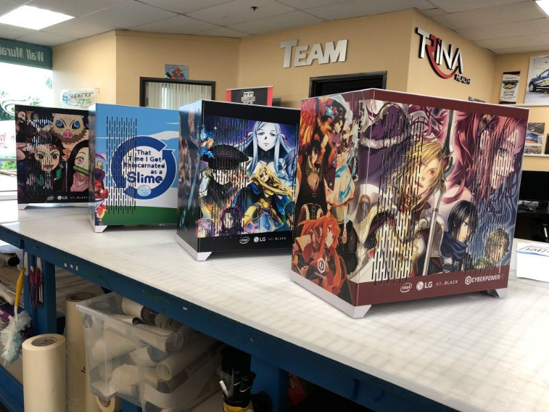Gaming PC Case Wraps City of Industry CA