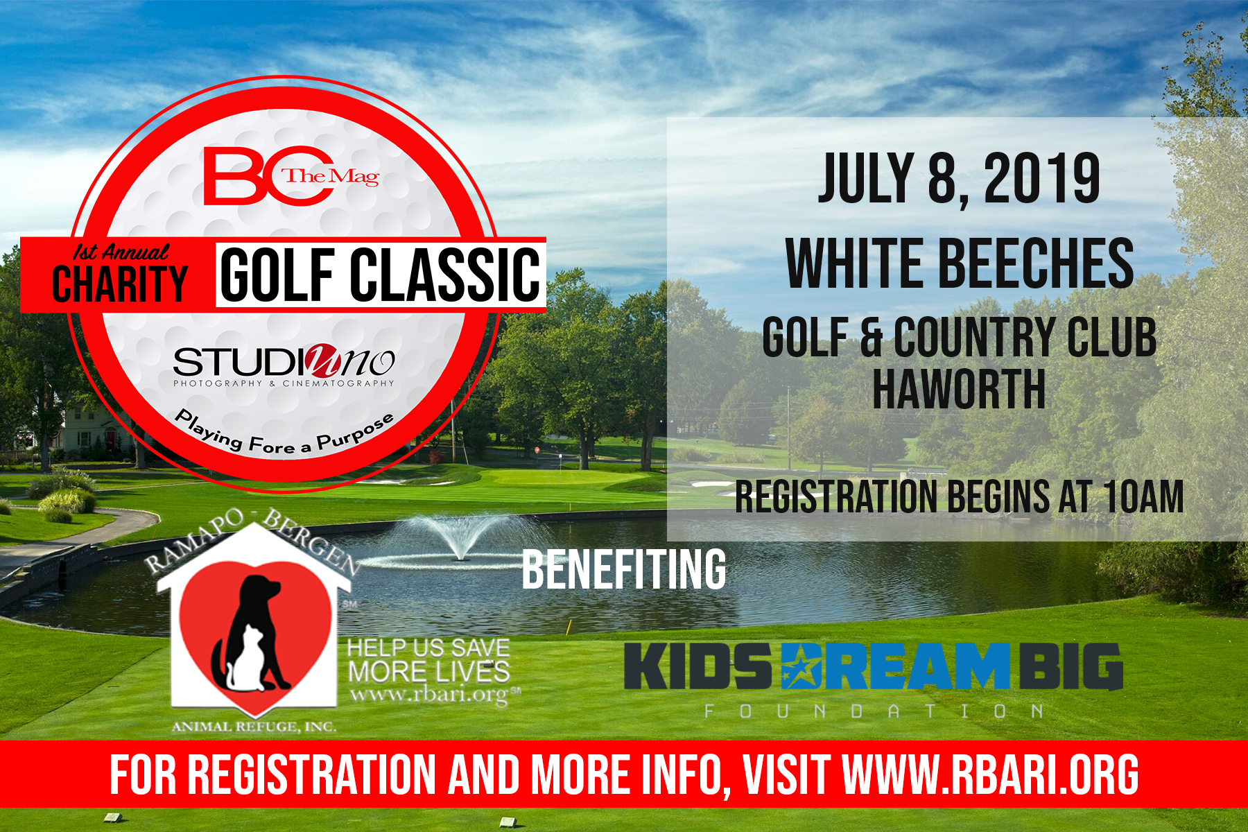 1st Annual Charity Golf Classic!