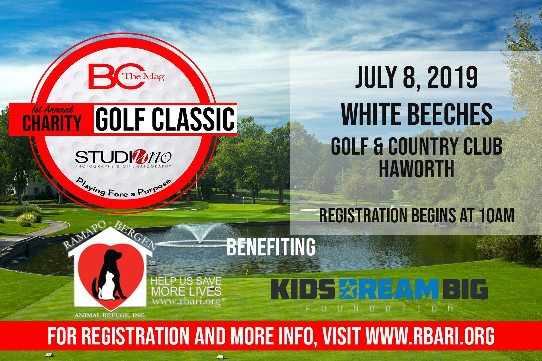 1st Annual Charity Golf Classic!