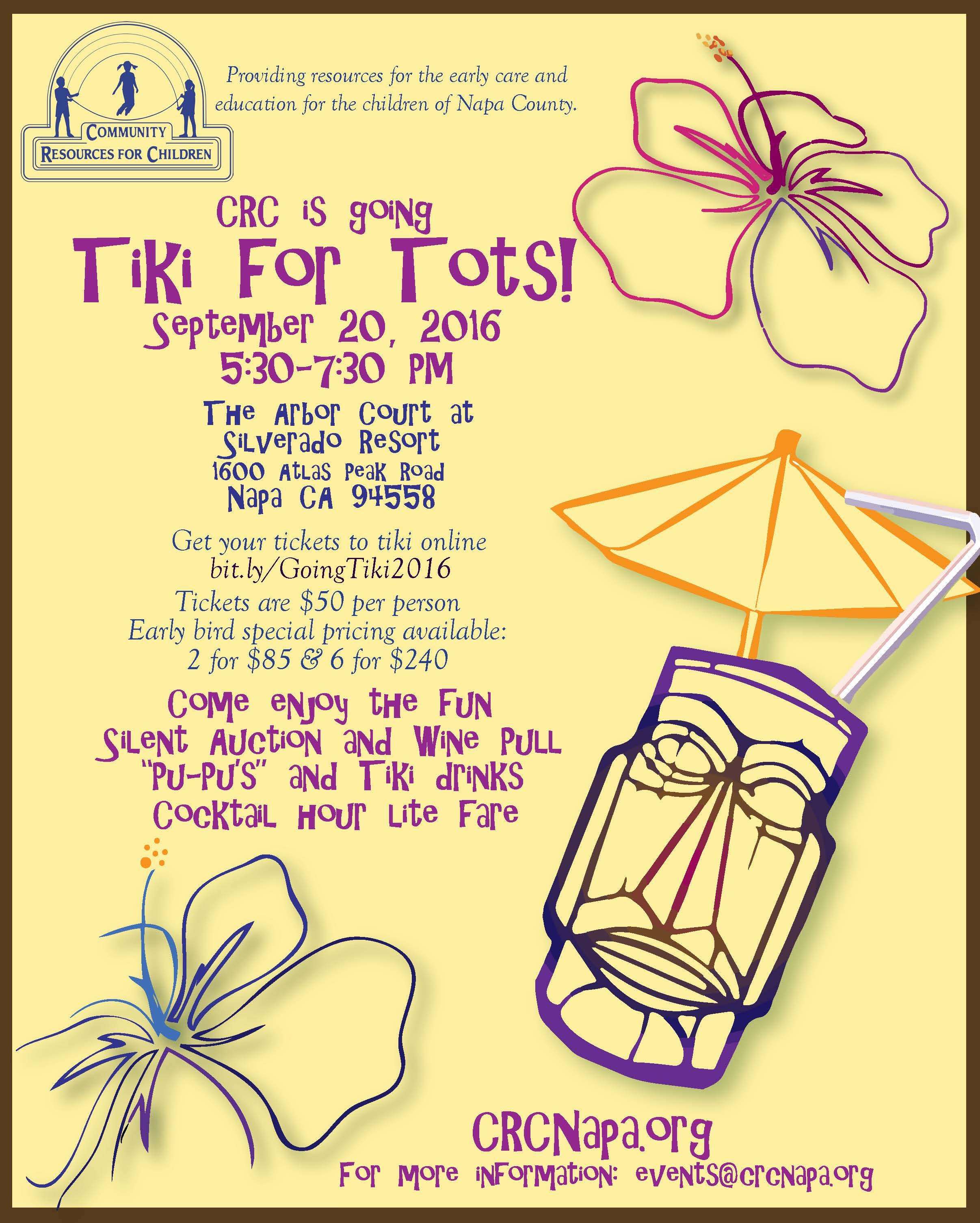 Going Tiki for Tots
