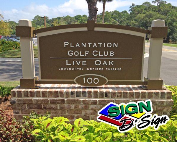 Live Oak Sign