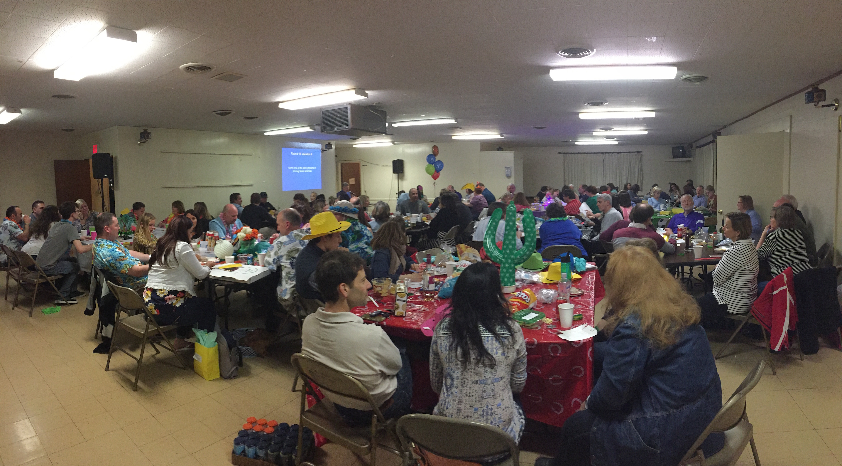 Tina & Tim Croghan & Mary Schultz's 3rd Annual Trivia Night is a Huge Success