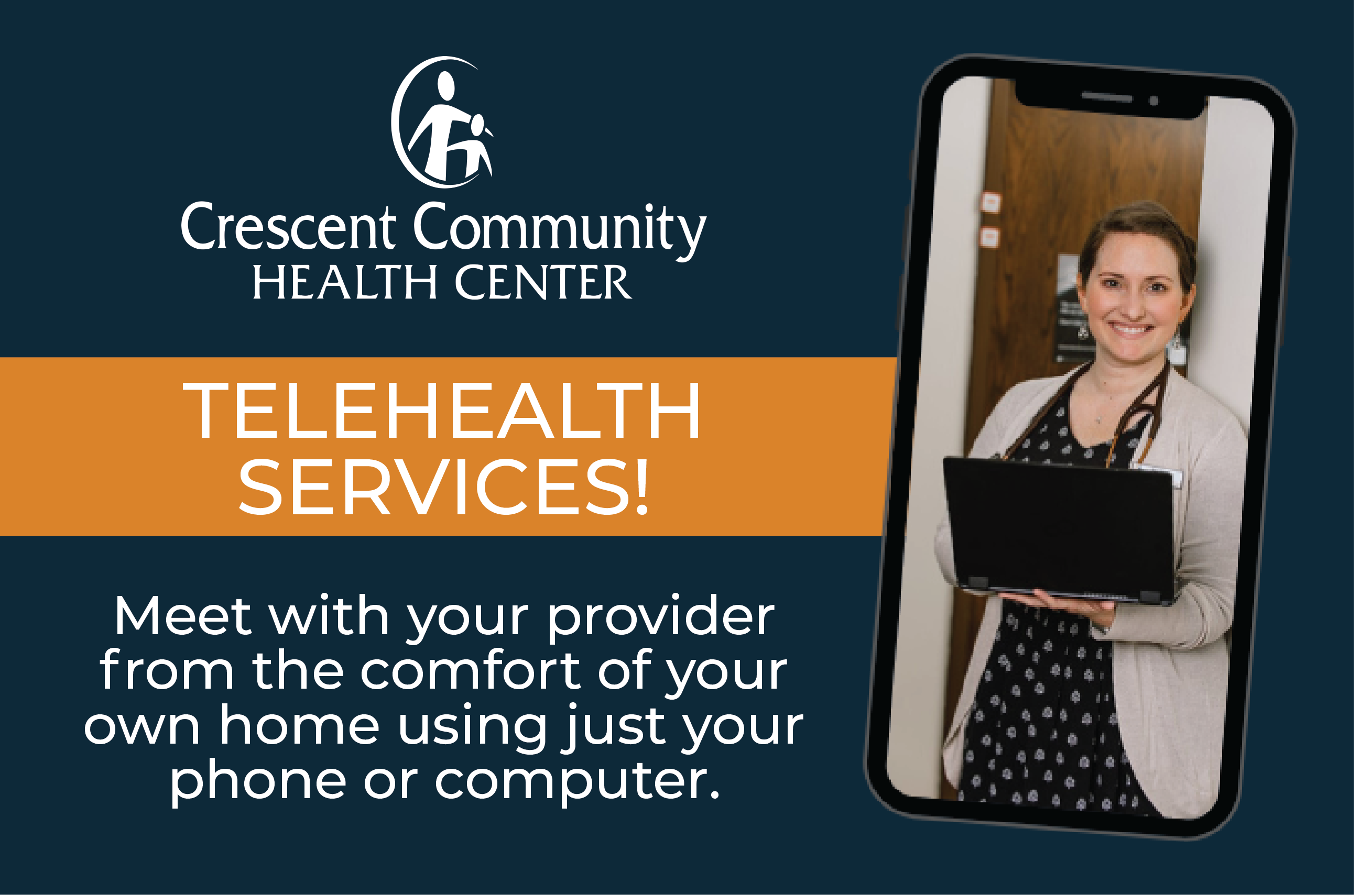 Utilize our Telehealth Services!