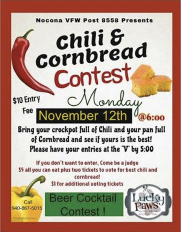 Chili & Cornbread Contest