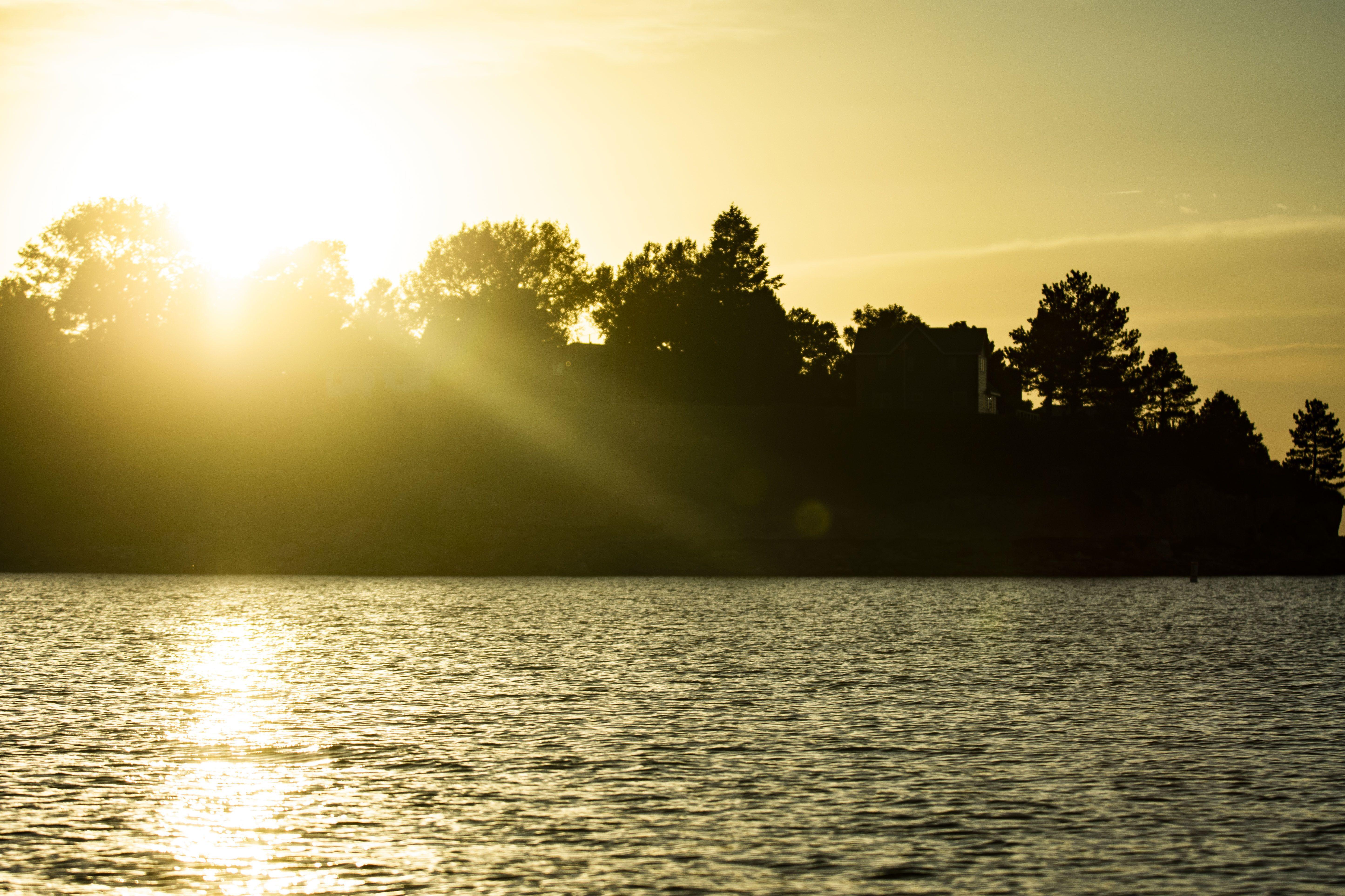Sunset at Lake Mac