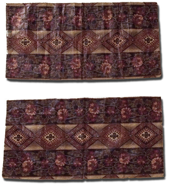 Pillow Shams, maker unknown, probably made in the United States, early 19th century, 34 x 18 in, IQSCM 2008.040.0265
