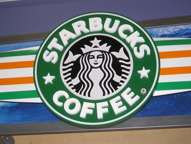Q25403 - Starbuck's Coffee Sign