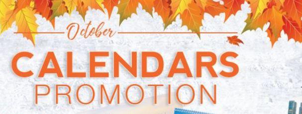 15% discount on calendars!