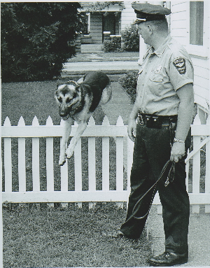 LCF Donor Profile: K-9 Officer Bernie Frey