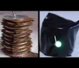 Penny Batteries