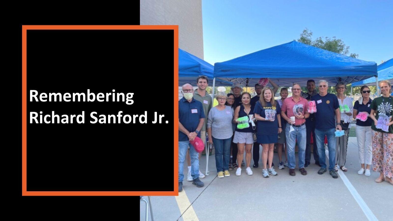Remembering Richard Sanford Jr.