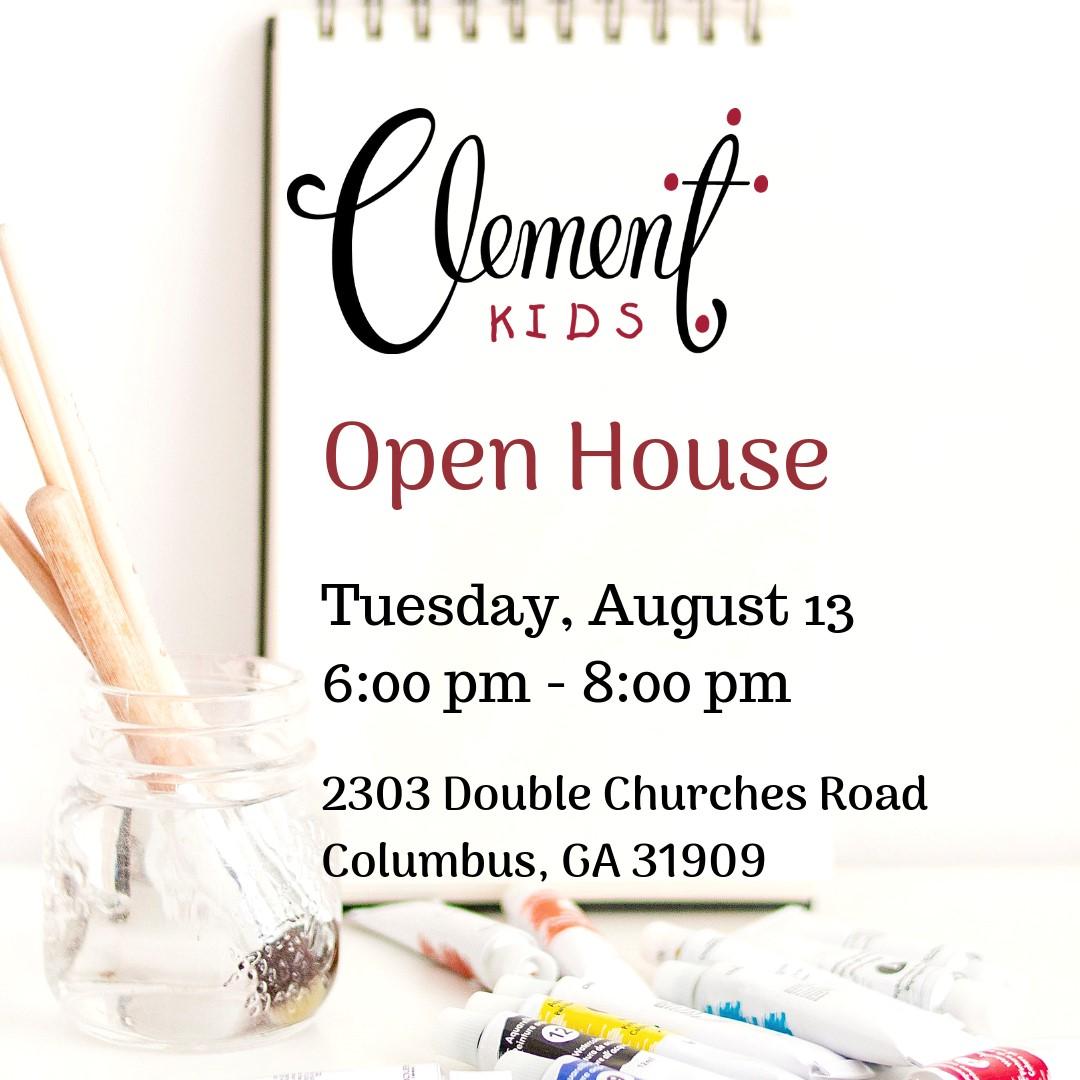 Clement Kids Open House: Fall Semester 2019