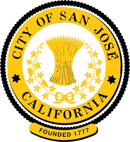 DP-2060 - Carved Plaque of the Seal of the City of San Jose, California, Artist Painted